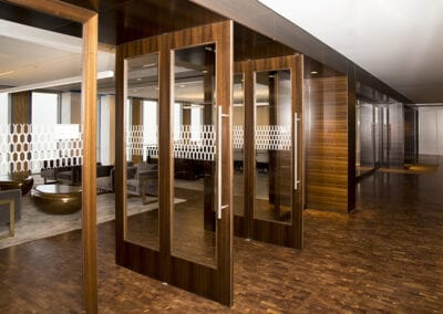 400 Record Street Floors | Woodwright