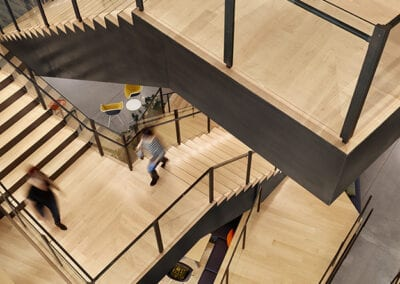 Aerial Stair View | Woodwright