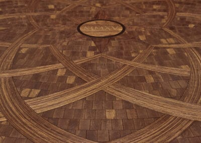 CNC Medallion Detail | Woodwright