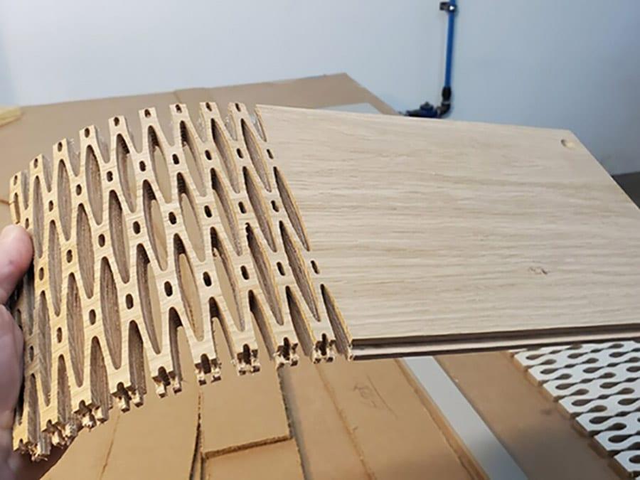 CNC Radius Engineered Plank | Woodwright