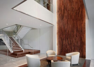 Christian Bros | Wooden Wall Application by Woodwright