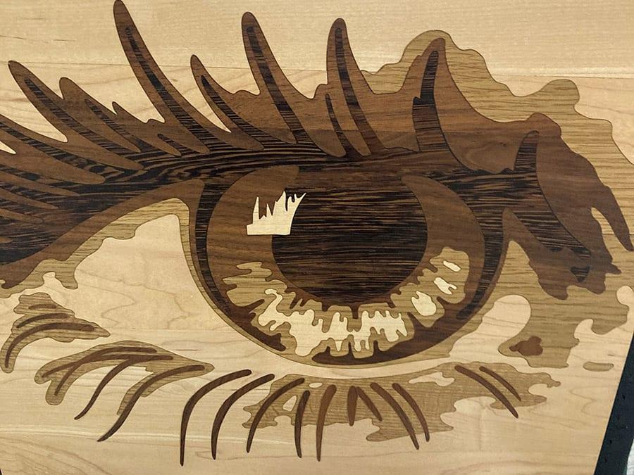 Eye Medallion | Woodwright
