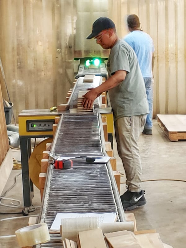 In-House Fabrication of Wood Flooring | Woodwright's Custom Wood Solutions and Hardwood Products