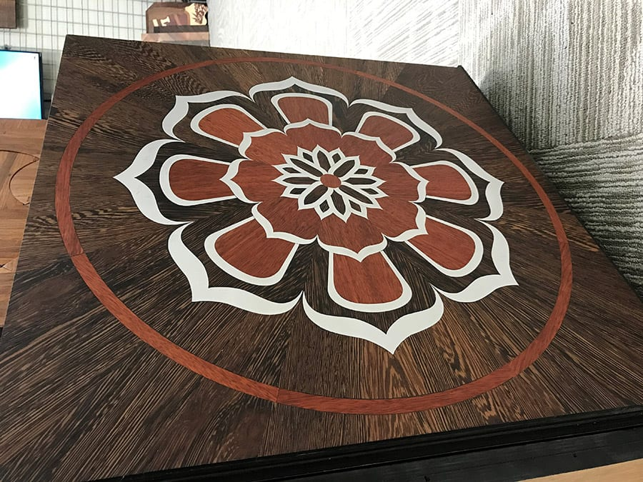 Medallion with Aluminum | Woodwright
