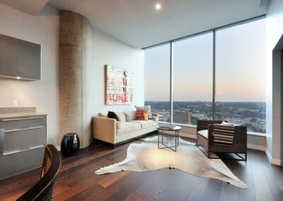 Residential Living Room | Floors by Woodwright