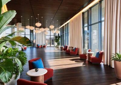Virgin Hotel in Dallas | Flooring by Woodwright